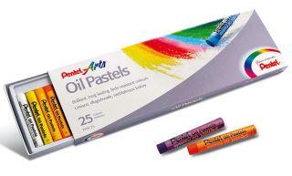 Pastele olejne Pentel - 25 kolorów