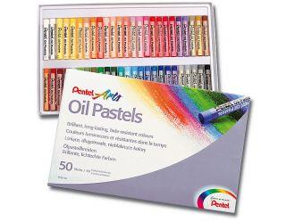 Pastele olejne Pentel - 50 kolorów