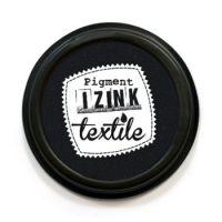 Poduszka z tuszem do tkanin - Czarny