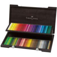 Kredki artystyczne Polychromos - 120 kolorów- drewniane opakowanie