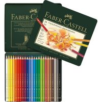 Kredki artystyczne Polychromos - 24 kolory