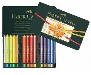 Kredki artystyczne Polychromos - 60 kolorów