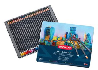 Kredki Procolour - 24 kolory