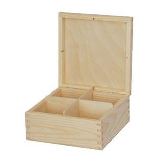 Pudełko na herbatę - 707 - 4 bez zapięcia