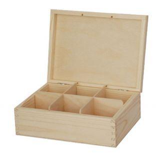 Pudełko na herbatę - 709 - 6 bez zapięcia