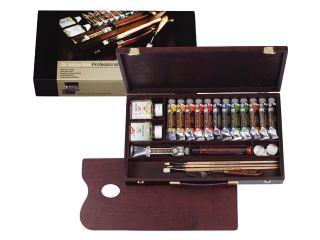 Farby olejne Rembrandt - Proffesional Box 12x40ml + 1x60ml