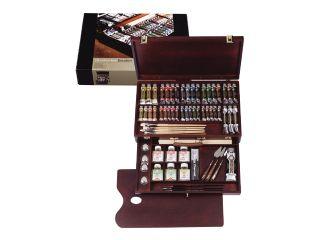 Farby olejne Rembrandt - Excellent Box 19x15ml + 18x40ml + 3x60ml + 1x150ml