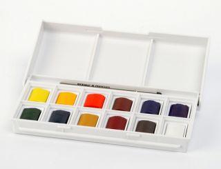 Farby akwarelowe Cotman - 12 kol. - Sketchers Pocket