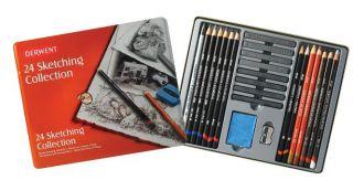 Zestaw artystyczny Sketching - 24 szt. - op. metalowe