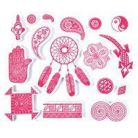 Stempelki do tkanin - Etniczne
