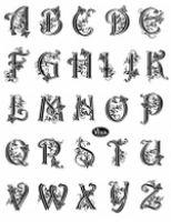Stemple silikonowe Viva 14x18cm - 045 Alfabet duże litery