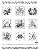 Stemple silikonowe Viva 14x18cm - 069 Świąteczny patchwork