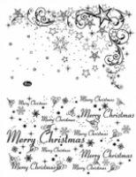 Stemple silikonowe Viva 14x18cm - 072 Merry Christmas