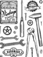 Stemple silikonowe Viva 14x18cm - 101 Narzędzia Vintage