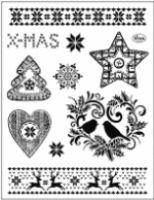 Stemple silikonowe Viva 14x18cm - 146 Świąteczne motywy