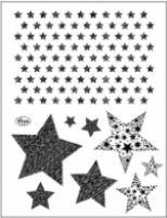 Stemple silikonowe Viva 14x18cm - 147 Gwiazdy