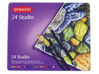 Kredki artystyczne Studio - 24 kolory - op. metalowe
