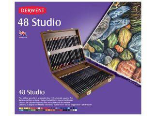 Kredki artystyczne Studio - 48 kolory - op. drewniane