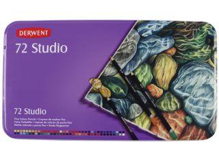 Kredki artystyczne Studio - 72 kolory - op. metalowe