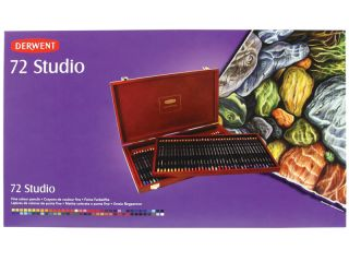 Kredki artystyczne Studio - 72 kolory - op. drewniane