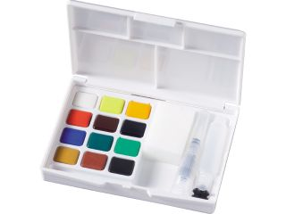 Zestaw akwareli Koi - 12 kolorów