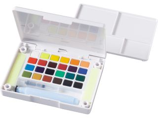 Zestaw akwareli Koi - 24 kolory