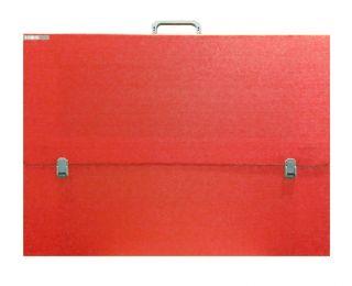 Teczka  czerwona - A3 (31x43,5x3cm) bez paska