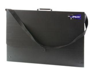Teczka czarna - A3 (31x43,5x3cm) z paskiem