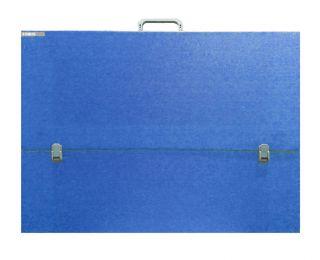 Teczka niebieska - A3 (31x43,5x3cm) bez paska