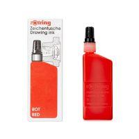 Tusz kreślarski 23ml Rotring - Czerwony