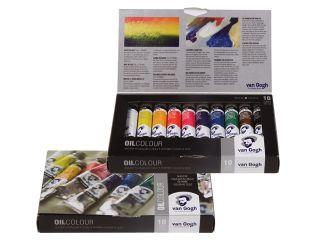 Zestaw farb olejnych Van Gogh - Basic Set 10x20ml