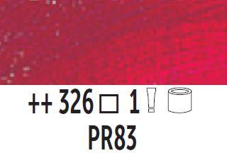 Farba olejna Van Gogh 40 ml - 326 Szkarłat alizarynowy