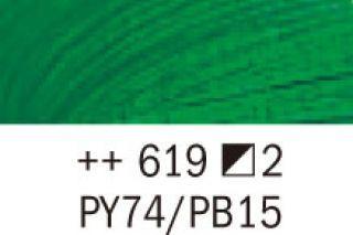 Farba olejna Van Gogh 40 ml - 619 Zielony permanentny ciemny