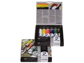 Zestaw farb olejnych Van Gogh - Starter Set 6x20ml