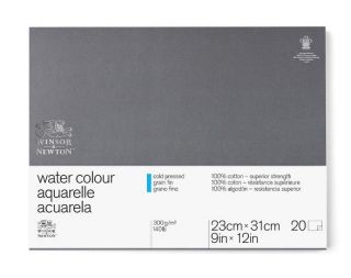 Blok akwarelowy W&N Professional - CP 23x31 cm 20ark