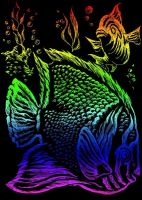 Wydrapywanka A5 - Ryby tropikalne