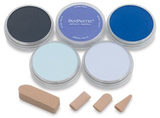 PanPastel zestaw 5 - Blues - błękity