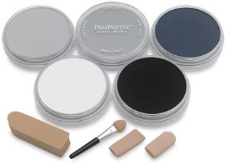 PanPastel zestaw 5 - Greys - szarości